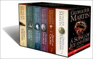 A Game of Thrones: The Story Continues. 6 Volumes Boxed Set