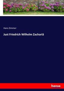 Just Friedrich Wilhelm Zachariä