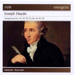 Sinfonien 41-47,50-52,64-65,82-90