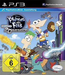 Phineas & Ferb 3 Quer durch die 2. Dimension (Move kompatibel)