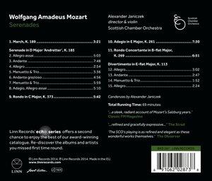 Serenade K.185/Rondo K.373/Adagio/+