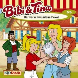 Bibi und Tina 55. Der verschwundene Pokal. CD