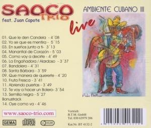 Ambiente Cubano III (Live)