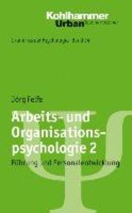 Arbeits- und Organisationspsychologie 2