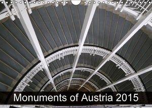 Monuments of Austria 2015 (Wall Calendar 2015 DIN A4 Landscape)