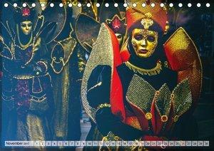 Festival der Masken (Tischkalender 2017 DIN A5 quer)