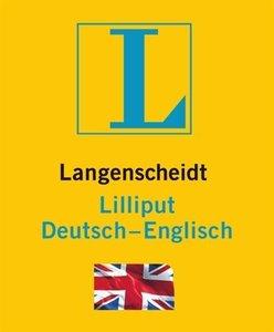 Langenscheidt Lilliput Englisch/Deutsch-Englisch