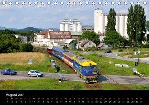 Eisenbahn in Nordböhmen 2017 (Tischkalender 2017 DIN A5 quer)