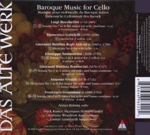 Baroque Music For Cello