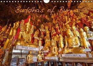 Buddhas of Burma / UK-Version (Wall Calendar 2015 DIN A4 Landsca