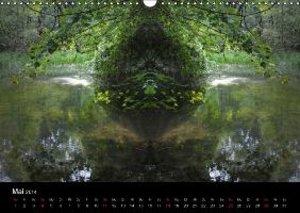 Spiegelwelten - Natur anders sehen (Wandkalender 2014 DIN A3 que