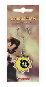 Serious Sam - Keychain / Schlüsselanhänger - Bomb Logo