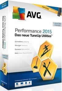 AVG TuneUp 2015 Utilities - USB-Edition (1PC/1Jahr) inkl. USB-St