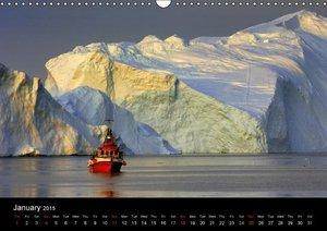 Greenland (Wall Calendar 2015 DIN A3 Landscape)