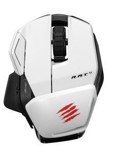 Mad Catz Office R.A.T. M - Weiß - Mobile Funk-Maus für PC, Mac u