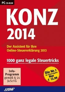 Konz Steuer 2014/CD-ROM