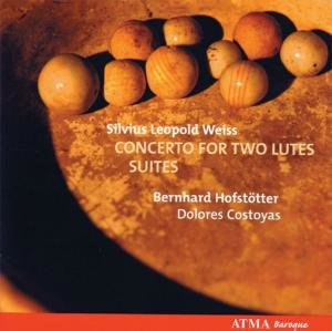 Weiss: Concerto for two lutes/Suites