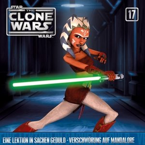Star Wars - The Clone Wars 17: Lektion in Geduld / Verschwörung