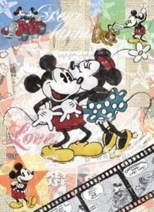 Ravensburger 14118 - Disney: Retro Mickey, 500 Teile Puzzle