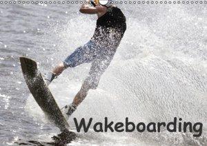 Wakeboarding / UK-Version (Wall Calendar 2015 DIN A3 Landscape)