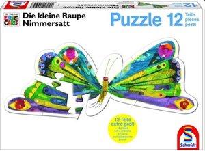 Schmidt Spiele 55504 - Schmetterling, Konturenpuzzle, 12 Teile
