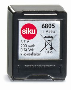 SIKU 6805 - Racing Ersatz Akku 13