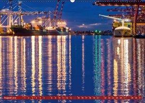 Ansichten vom Hafen (Wandkalender 2016 DIN A2 quer)