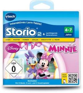 VTech 80-231704 - Storio 2 Lernspiel: Minnies Schleifen Boutique