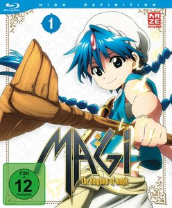 Magi - The Kingdom of Magic 01