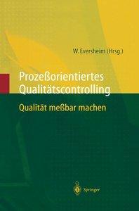 Prozeßorientiertes Qualitätscontrolling