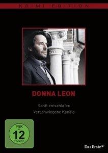 Donna Leon: Sanft entschlafen/ Verschwiegene Kanäle (Krimiediti