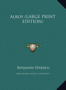 Alroy (LARGE PRINT EDITION)