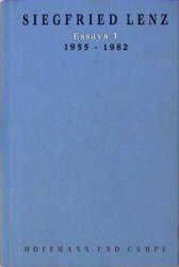 Essays I. 1956 - 1982