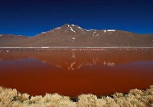 Bolivien Andenlandschaften (Tischaufsteller DIN A5 quer)