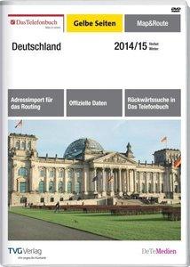 Das Telefonbuch - Gelbe Seiten - Map&Route Herbst/Winter 2014/15