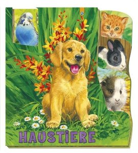 Fenster-Register-Pappenbuch - Haustiere