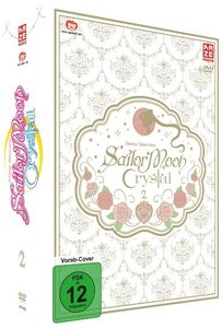Sailor Moon Crystal - DVD 3 (2 DVDs) + Sammelschuber (Limited Ed