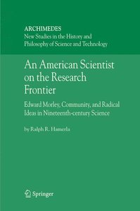 An American Scientist on the Research Frontier