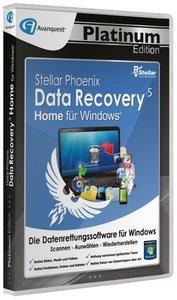 Stellar Phoenix Data Recovery 5 Home für Windows - Platinum Edit