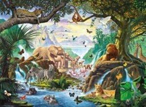 Ravensburger 14863 - Tiere am Wasserloch, Starline Puzzle, 500 T