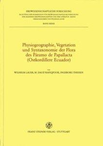 Physiogeographie, Vegetation und Syntaxonomie der Flora des Pára