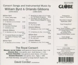 Byrd & Gibbons: Consort Songs and Instrumental Mus