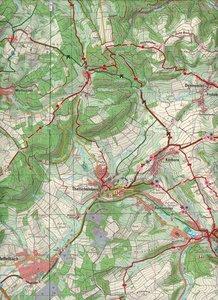 Kusel, Glan-Münchweiler 1 : 25 000. Naturparkkarte P19