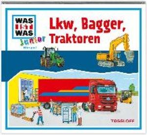Was ist was Junior Hörspiel-CD: Lkw, Bagger, Traktoren