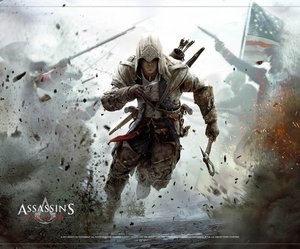 Assassins Creed Wallscroll / Banner - Connor