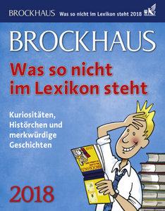 Brockhaus! Was so nicht im Lexikon steht 2018