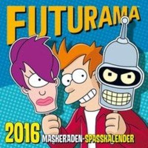 Futurama Wandkalender 2016