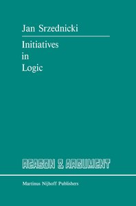Initiatives in Logic
