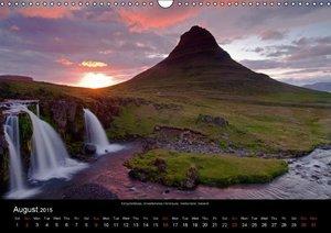 Iceland 2015 (Wall Calendar 2015 DIN A3 Landscape)