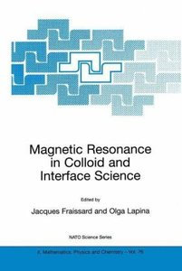 Magnetic Resonance in Colloid and Interface Science